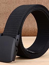 cheap -Men's Classic & Timeless Waist Belt - Solid Color