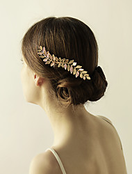 cheap -Alloy Hair Combs / Flowers with 1 Wedding / Special Occasion / Anniversary Headpiece