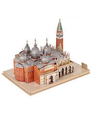 cheap -3D Puzzle Model Building Kit Famous buildings EPS+EPU Unisex Toy Gift