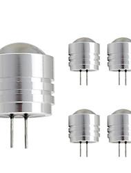 cheap -5 pcs 1.5W Aluminum Led Bulb Mini Spotlight G4 Bi-pin Base DC 12V Cold White Warm White