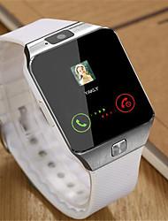 Недорогие -Муж. Наручные часы Смарт Часы Модные часы Цифровой Повседневные часы Pезина Группа Cool Черный Белый Коричневый