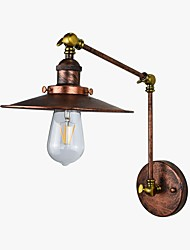 cheap -Rustic / Lodge / Antique / LED Wall Lamps & Sconces Metal Wall Light 110-120V / 220-240V 4 W / E26 / E27 / E27