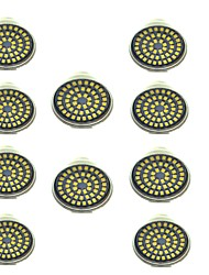 cheap -10pcs 3 W LED Spotlight 500 lm GU10 48 LED Beads SMD 2835 Decorative Warm White Cold White 12 V / 10 pcs
