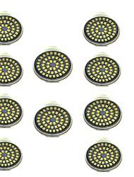 cheap -10pcs 3 W LED Spotlight 500 lm GU10 48 LED Beads SMD 2835 Decorative Warm White Cold White 12 V / 10 pcs