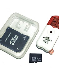 cheap -Ants 4GB Micro SD Card TF Memory Card Class6 with Card Adapter Card Reader AntW5-4