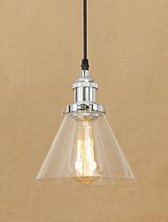 cheap -1-Light 18 cm Mini Style / Bulb Included / Eye Protection Pendant Light Metal Glass Electroplated Chic & Modern 110-120V / 220-240V
