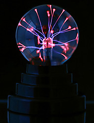 cheap -Magic Plasma Ball kids room Party decor Electrostatic Sphere Light Gift Lightning Crystal Luminaria Touch Plasma Ball Lamp Electrostatic Sphere Light