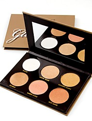 cheap -2 Colors Makeup Set Pressed powder Concealer / Contour Dry / Shimmer / Combination Face China Makeup Cosmetic Paper