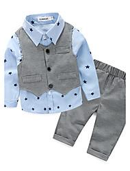 cheap -Infant Boys' Galaxy Cotton Clothing Set Blue