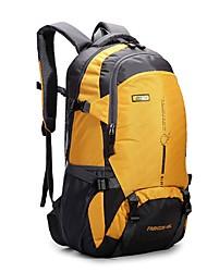 Недорогие -30 L Рюкзаки Удобный На открытом воздухе Отдых и Туризм На открытом воздухе Нейлон Синий Оранжевый Темно-фиолетовый