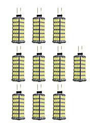 cheap -10pcs 4 W LED Bi-pin Lights 320 lm G4 120 LED Beads SMD 2835 Warm White White 12 V / 10 pcs