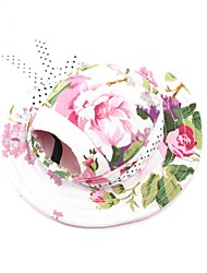 cheap -Cat Dog Hair Accessories Bandanas & Hats Christmas Dog Clothes Costume Canvas Floral / Botanical Party Cowboy Casual / Daily S M