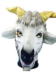 Недорогие -Маски на Хэллоуин Животная маска клей Овечья шерсть Ужасы Взрослые Универсальные