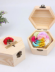 cheap -Wedding / Birthday / Event / Party Wooden Bath & Soaps Garden Theme / Floral Theme / Butterfly Theme - 1 pcs