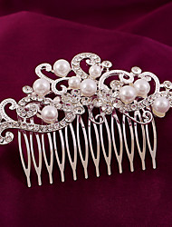 cheap -Imitation Pearl / Rhinestone / Alloy Hair Combs / Flowers with 1 Wedding / Special Occasion / Birthday Headpiece