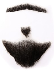 cheap -Neitsi Tape In Human Hair Extensions Straight Classic Human Hair Human Hair Extensions Women's Dark Brown