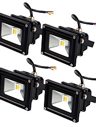 cheap -JIAWEN 4pcs Led Floodlight 10W Outdoor Spotlight Flood Light Waterproof IP65 Professional Lighting Lamp AC85-265V