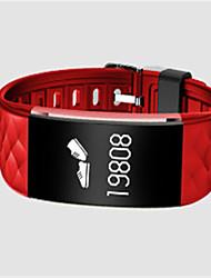 Недорогие -Жен. Смарт-часы Модные часы Цифровой силиконовый Группа Черный Белый Красный