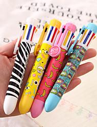 cheap -Pen Pen Ballpoint Pens Pen, Plastic Red / Black / Blue Ink Colors For School Supplies Office Supplies Pack of 1 pcs