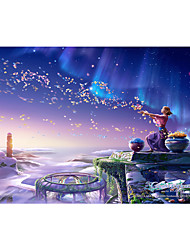 cheap -1000 pcs Galaxy Starry Sky Jigsaw Puzzle Adult Puzzle Jumbo Wooden Cartoon Adults' Children's Toy Gift