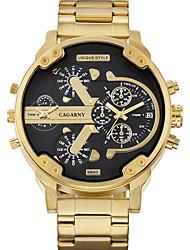 cheap -WEIDE Men's Wrist Watch Japanese Quartz Stainless Steel Gold 30 m / Analog Casual - White Black
