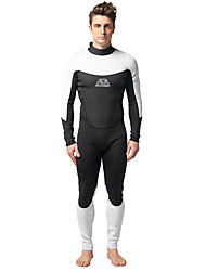 cheap -MYLEDI Men's Full Wetsuit Thick 3mm Neoprene Diving Suit Thermal / Warm Waterproof Swimming Diving Spring Summer Fall / Winter