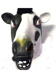 cheap -Halloween Mask Animal Mask Latex Rubber Glue Party Cow Horror Adults' Unisex