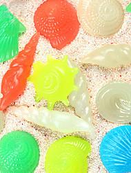 cheap -Fish Tank Aquarium Decoration Fish Bowl Ornament Stones Luminous Plastic 3-5 cm