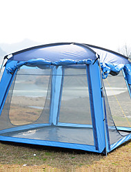 cheap -Trackman® 4 person Screen Tent Screen House Outdoor Rain Waterproof Dust Proof Foldable Single Layered Camping Tent 1500-2000 mm for Camping / Hiking Outdoor Nylon Polyester Taffeta