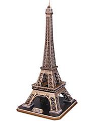 Недорогие -3D пазлы Пазлы Бумажная модель Знаменитое здание Церковь Натуральное дерево Универсальные Игрушки Подарок