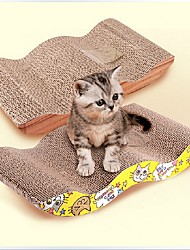 cheap -Catnip Cat Toy Pet Toy 1 Scratch Pad Paper Gift