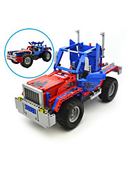 cheap -Remote Control RC Building Block Kit Building Blocks Construction Set Toys Educational Toy Car Movie Character Remote Control / RC DIY Boys' Girls' Toy Gift