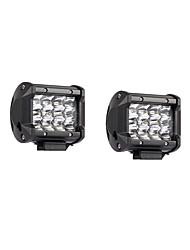 Недорогие -2pcs Автомобиль Лампы 36W SMD 3030 7200lm Светодиодная лампа Рабочее освещение
