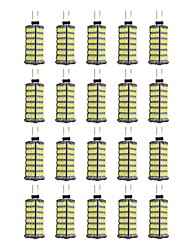 cheap -20pcs 4 W LED Bi-pin Lights 320 lm G4 120 LED Beads SMD 2835 Warm White White 12 V / 20 pcs
