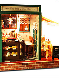 cheap -CUTE ROOM Model Building Kit DIY Famous buildings Furniture House Wooden Classic Unisex Toy Gift