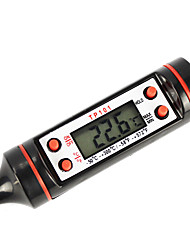 """Недорогие -0,9 """"цифровой ЖК-термометр мясная пища Турция барбекю кухня питание приготовление зонда горячей (-50 ~ 300'c / 1 * LR44)"""