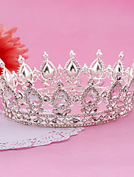 cheap -Imitation Pearl / Rhinestone / Alloy Tiaras / Headbands / Headwear with Floral 1pc Wedding / Special Occasion / Birthday Headpiece