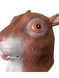 cheap -Halloween Mask Animal Mask Latex Rubber Glue Squirrel Horror Adults' Unisex