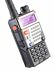 cheap -BAOFENG BUV-5RE Handheld Low Battery Warning / PC Software Programmable / Voice Prompt 3KM-5KM 3KM-5KM 1800 mAh 5 W Walkie Talkie Two Way Radio