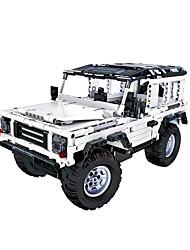 cheap -Remote Control RC Building Block Kit Building Blocks Construction Set Toys Educational Toy Car Remote Control / RC DIY SUV Boys' Girls' Toy Gift