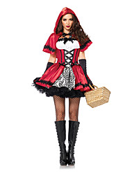 cheap -Fairytale Movie / TV Theme Costumes Cosplay Costume Masquerade Women's Sexy Halloween Carnival Festival / Holiday Spandex Women's Carnival Costumes Vintage / Cloak