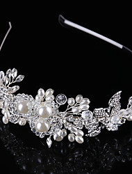 cheap -Crystal / Imitation Pearl / Alloy Tiaras / Headbands with 1 Wedding / Special Occasion / Birthday Headpiece