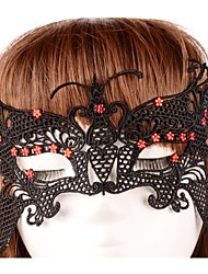 cheap -Halloween Mask Sexy Lace Mask Party Butterfly Novelty Lace Horror Adults' Girls'