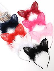 cheap -Headbands Hair Accessories Rabbit Fur / Alloy Wigs Accessories Women's 1pcs pcs 4-8inch cm Halloween / Daily Boutique / Classic Cute