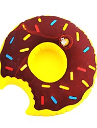cheap -Inflatable Toys Donuts Style Water Swim Ring Coaster Cup Holder