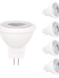 cheap -5pcs 2 W LED Spotlight 180-210 lm MR11 MR11 3 LED Beads SMD 2835 Decorative Warm White Cold White 12 V / 5 pcs