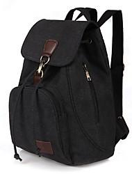 cheap -Canvas School Bag Outdoor Blue / Black / Coffee