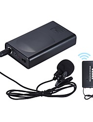 cheap -Portable Lavalier Lapel Collar Clip-on Wireless Microphone Voice Amplifier for Lecture Conference Speech Promotion