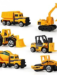 cheap -1:64 Plastics Aluminum Alloy Carbon Toy Truck Construction Vehicle Toy Car Kid's Car Toys