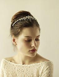 cheap -Imitation Pearl / Rhinestone Tiaras with 1 Wedding / Special Occasion / Anniversary Headpiece